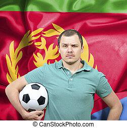 Proud football fan of Eritrea