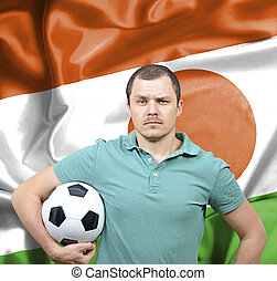Proud football fan of Niger