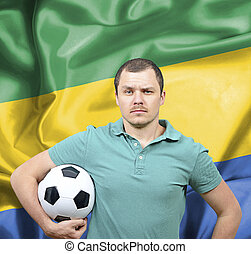 Proud football fan of Gabon