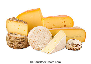 cheese - a choice of different cheese
