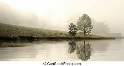 morning mood at koenigsee bavaria - koenigssee early in the...