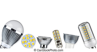 LED light bulbs - different led light bulbs