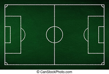 soccer tactic board - green soccer tactic board