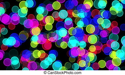 spots light night circle