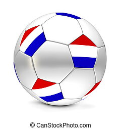 Soccer Ball/Football Netherlands - shiny football/soccer...