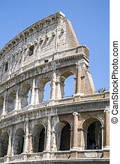 Colosseum is a landmark of Rome