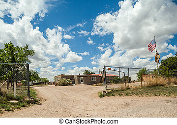 Cochiti Indians reservation in New Mexico, USA