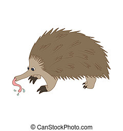 Anteater icon, cartoon style - Anteater icon in cartoon...