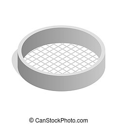 Sieve Stock Illustrations. 426 Sieve clip art images and ...