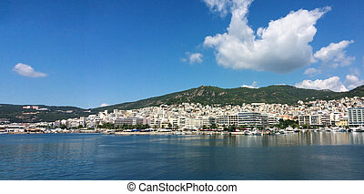 Kavala city greece - Thasos island greece Kavala city...