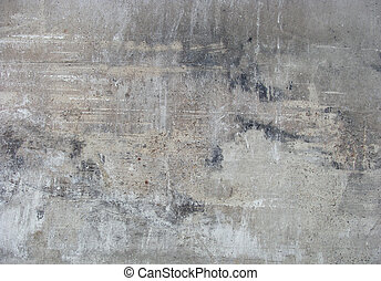 dirty worn gray wall