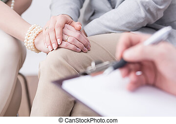 Successful results of a professional marital therapy -...