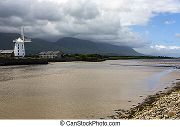 Blennerville Windmill - County Kerry - Republic of Ireland -...