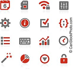 System Settings Vector Icons
