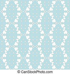 Seamless pattern in pastel colors - Beautiful elegant...