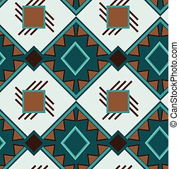 Ethnic boho seamless pattern