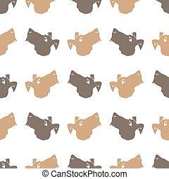 Dog Seamless Animal Pattern