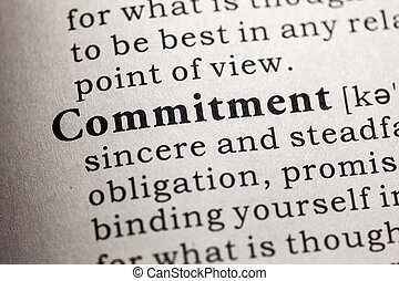commitment - Fake Dictionary, Dictionary definition of the...