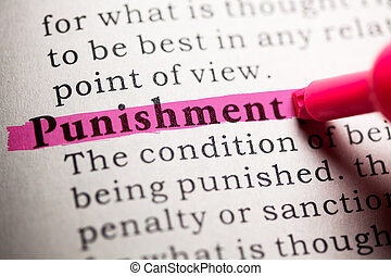 punishment - Fake Dictionary, Dictionary definition of the...