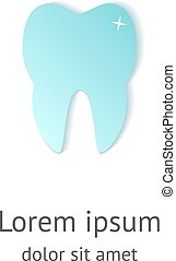 tooth dental logo design