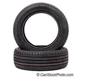 Tire. Car wheels.