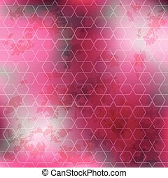 Abstract background in purple tones. Geometric pattern with...