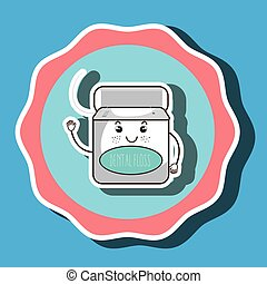 mouthwash isolated icon design, vector illustration  graphic