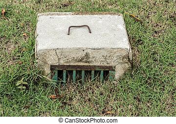 Concrete Water Drain