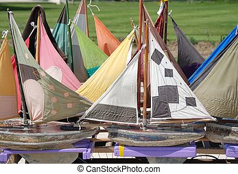 sailboats for kids - sailboats in le jardin des tuileries in...