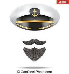 Symbol of the sea captain