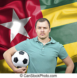 Proud football fan of Togo