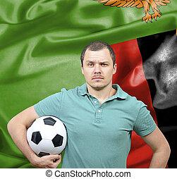 Proud football fan of Zambia