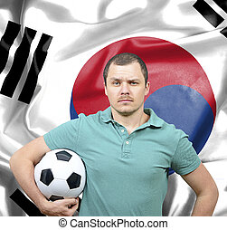 Proud football fan of South Korea