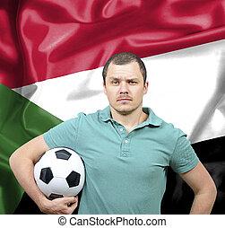 Proud football fan of Sudan