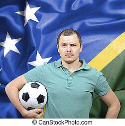 Proud football fan of Solomon Islands
