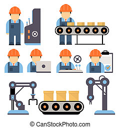 Production Process Illustration - Production process ,...