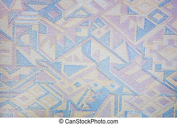 wall-paper color geometrical drawing closeup background