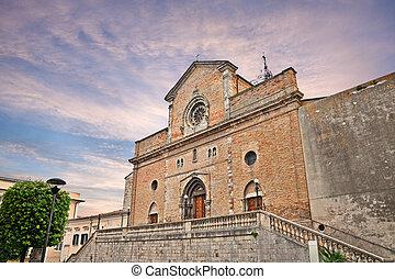 cathedral of Atessam Abruzzo, Italy - Atessa, Abruzzo,...