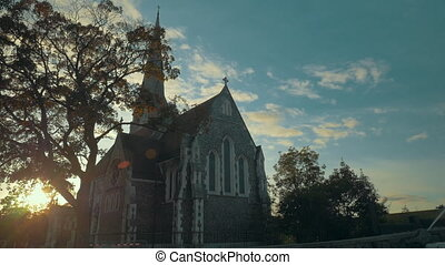 St Albans Church in Copenhagen, Denmark - St Albans Church...