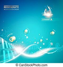 Regenerate cream and Vitamin. - Regenerate cream and Vitamin...