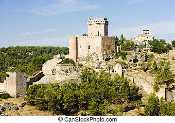 Marques de Villena Castle, Alarcon, Castile-La Mancha, Spain