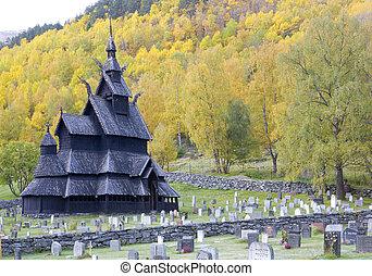 Borgund Stavkirke - Borgund Stavkirke, Norway