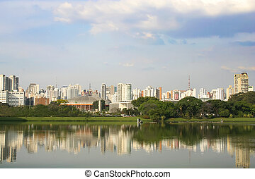 Sao Paulo - Skyline of Sao Paulo, Brasil