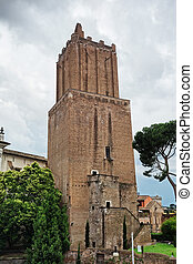 Torre delle Milizie - Tower of the Militia is a fortified...