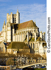 Auxerre  - Auxerre Cathedral, Burgundy, France