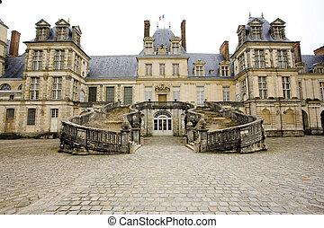 Fontainebleau  - Palace Fontainebleau, Ile-de-France, France