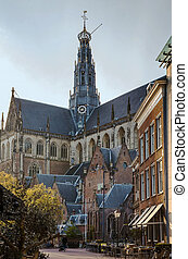 Grote Kerk, Haarlem, Netherlands - The Grote Kerk or...