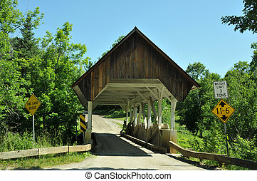 Greenbanks Hollow Bridge in Danville, VT