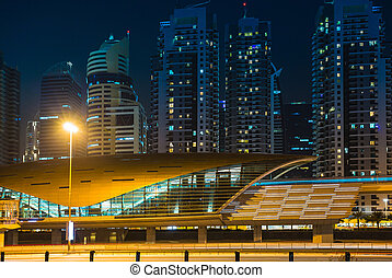 Dubai Metro as worlds longest fully automated metro network...