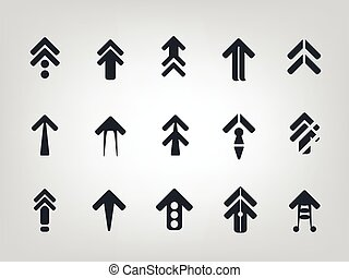 Arrow icon Vector modern style for infographics and web...